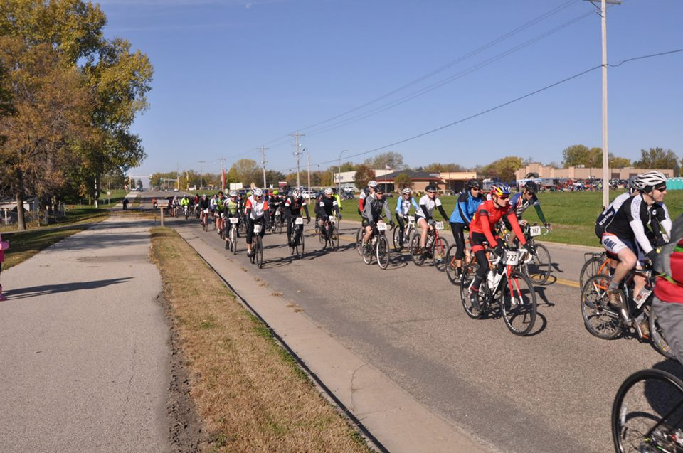 This was my first ever roll out and I loved it! There were close to 400 people racing the Filthy 50.