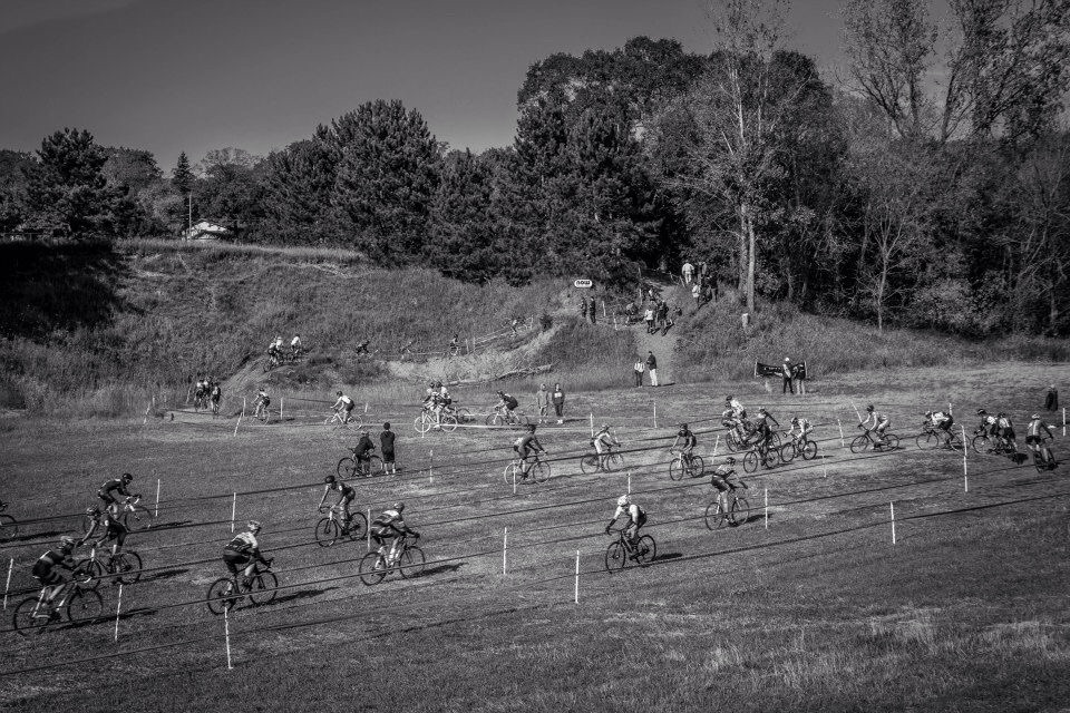 Lots of people raced at Green Acres. It was a beautiful weekend. Photo from Green Acres Facebook Page.