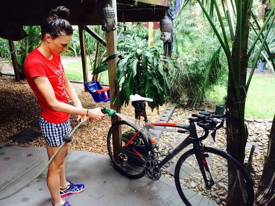 Bike Wash 101 — Gwen Jorgensen