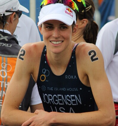 All smiles post race