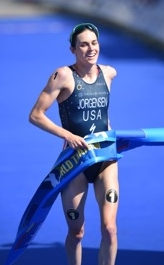 Gwen Jorgensen is a professional triathlete from St Paul, MN. Gwen is a 2012 Olympian, 2x World Champion (2014, 2015), and 15x ITU World Triathlon Series race winner. She also likes to read, try new foods, and hang out with friends and family. Feel free to add Gwen on any of the social sites below!