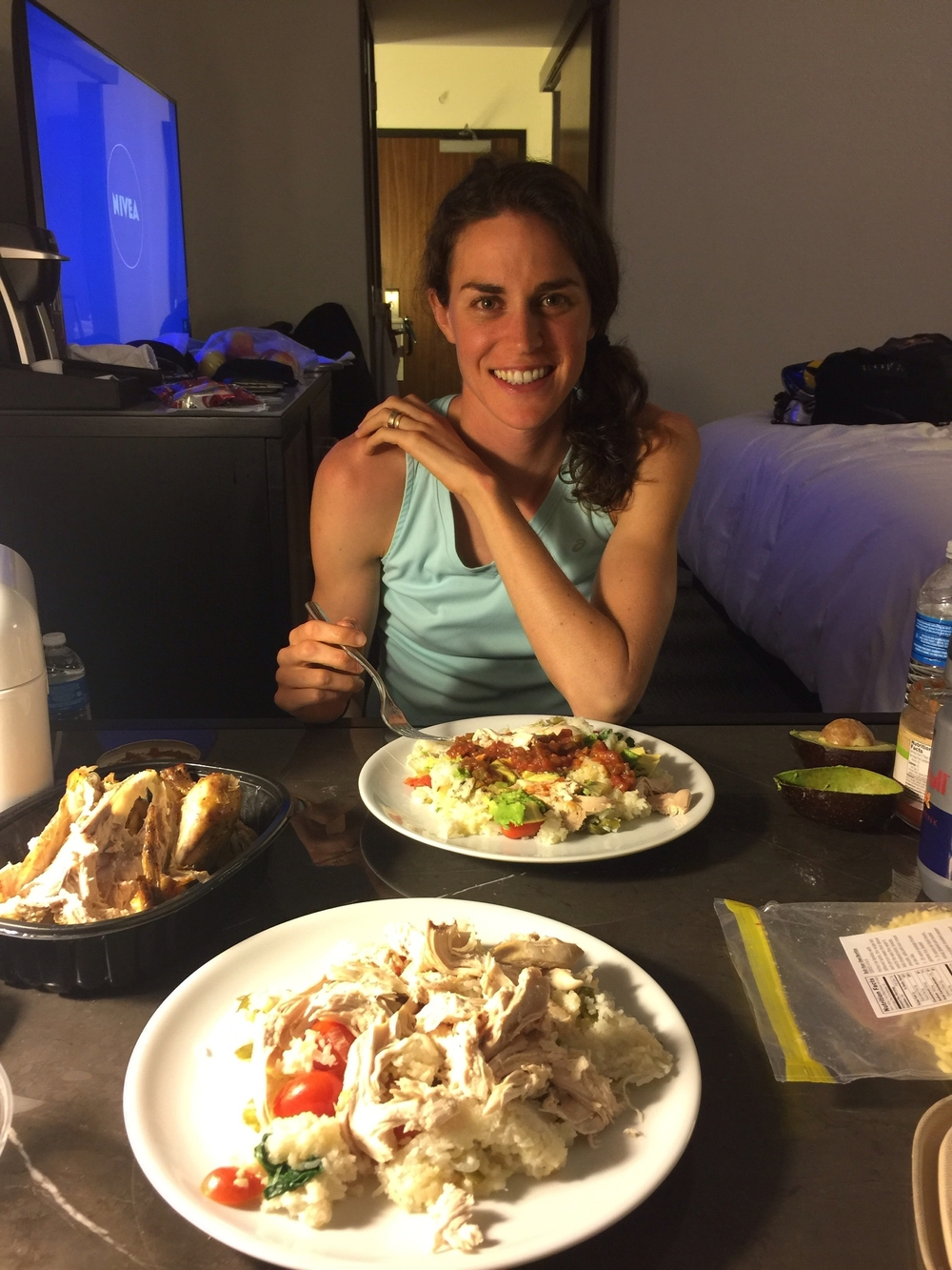 My pre race dinner