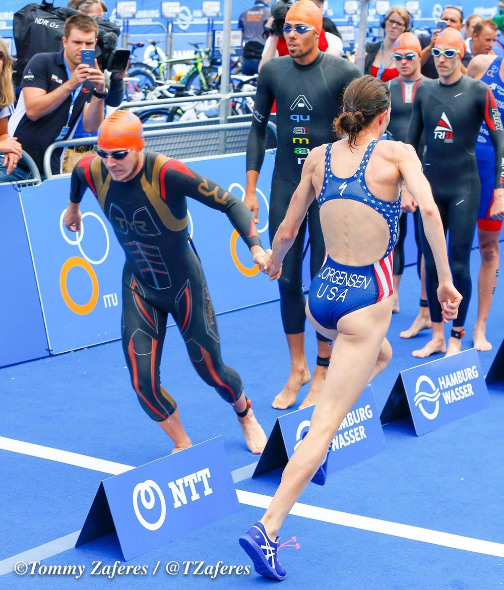 An epic race by Ben put team USA in a commanding lead. Photo thanks to Tommy Zaferes
