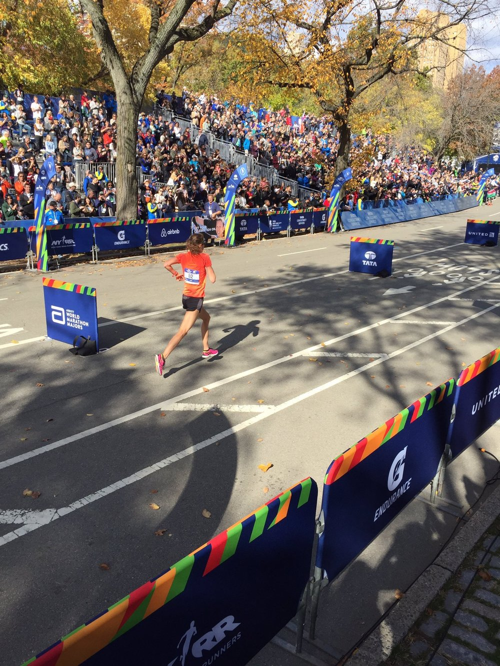 The struggle of those last few steps at the NYC Marathon ...