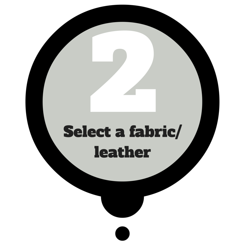 select a fabric/leather - dream design