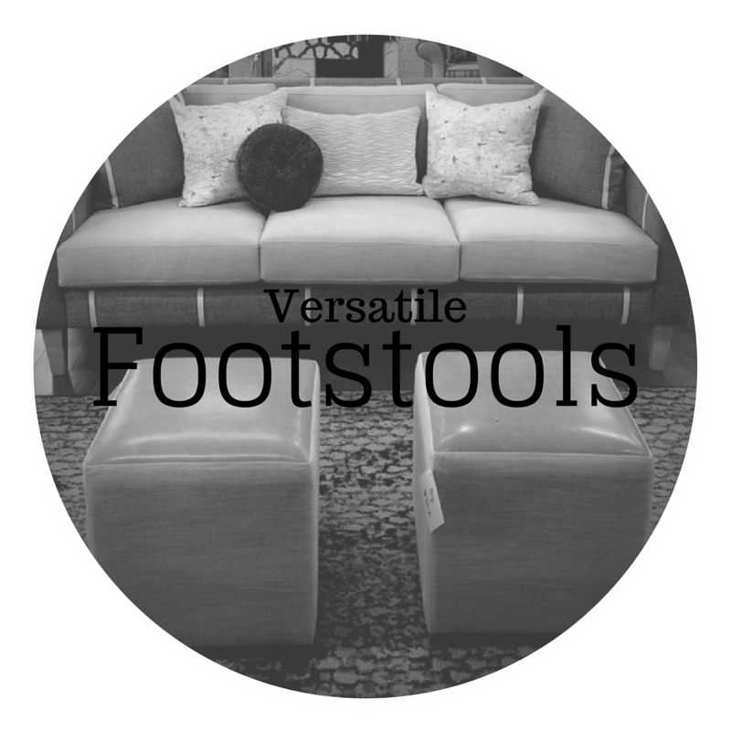Versatile footstools - dream design - new furniture