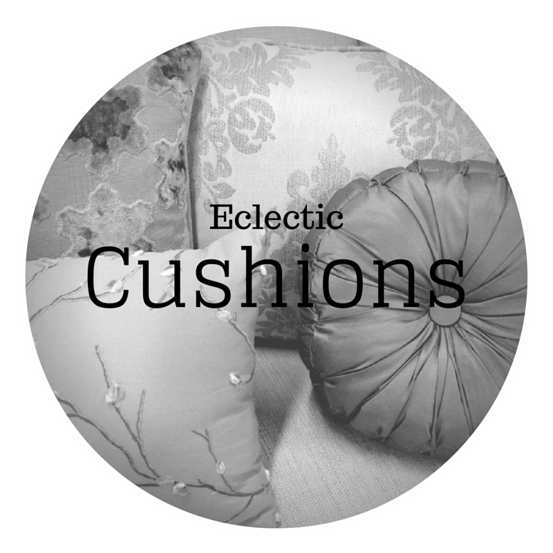 eclectic cushions - dream design - new furniture