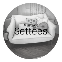 vintage settees - dream design - new furniture