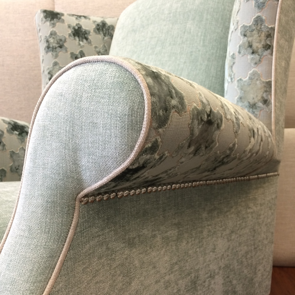 high wing back chair - dream design