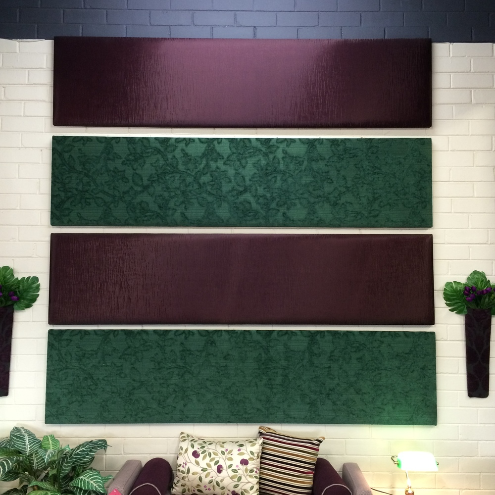 $318 - $478 ea Style: standard wall panels Fabric: Range Spruce - Bacau Shiraz