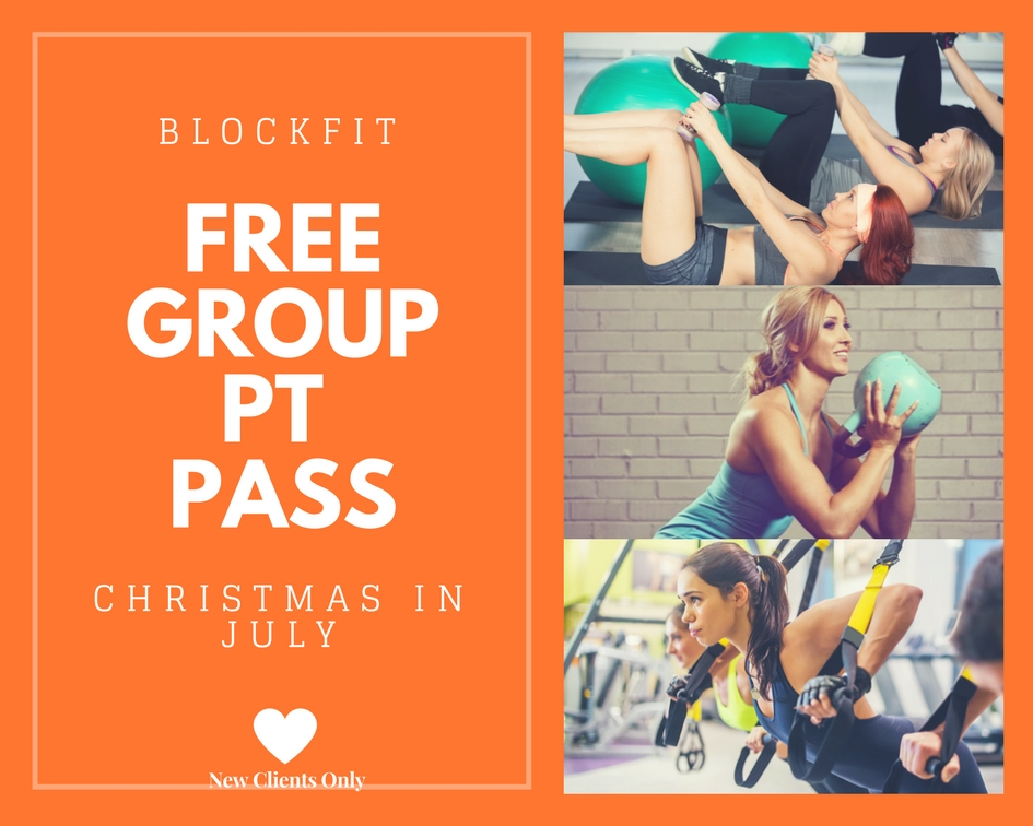 BlockFIT Free Group Session
