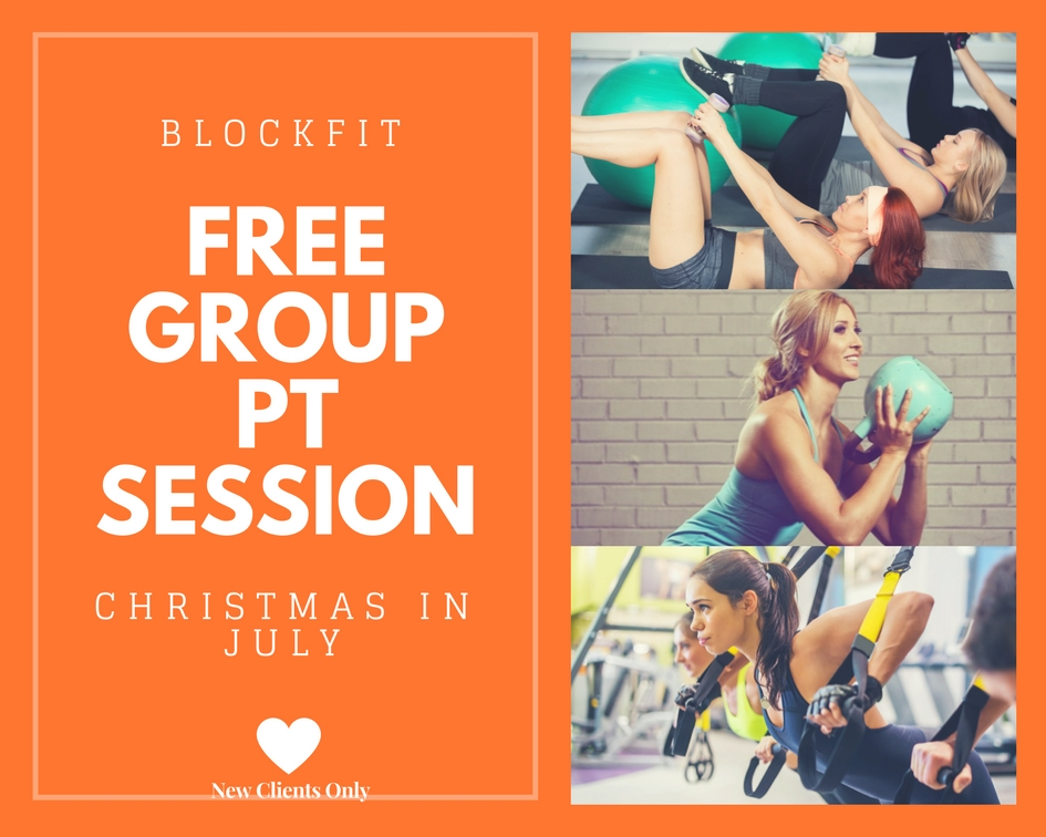 Book your complimentary Personal Group Training Session. - Click image to book your session.