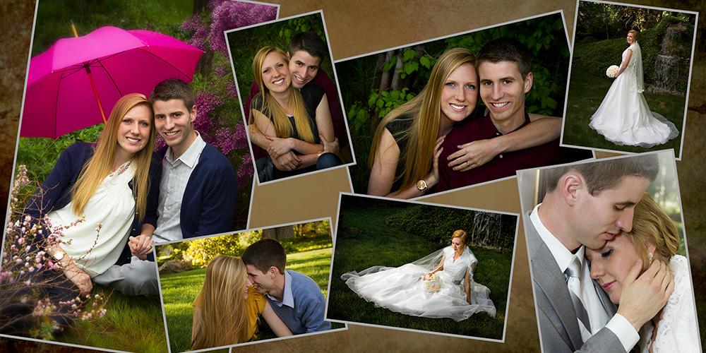 wedding album pages gibby photography studios wedding portrait