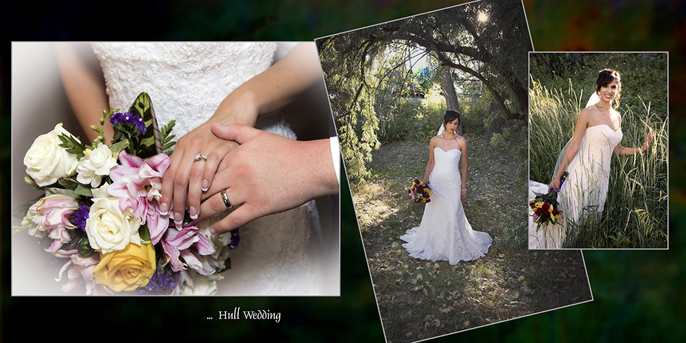 wedding album pages gibby photography studios wedding portrait