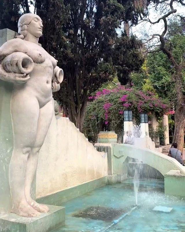 #fav fountain 🐚⛲️🌺