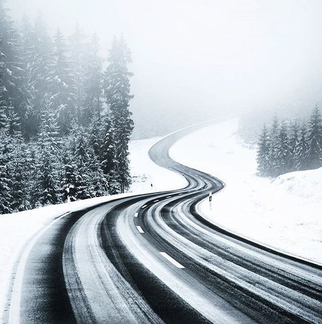 Winding forward. // photo by @kilianschoenberger #greatnorthcollective
