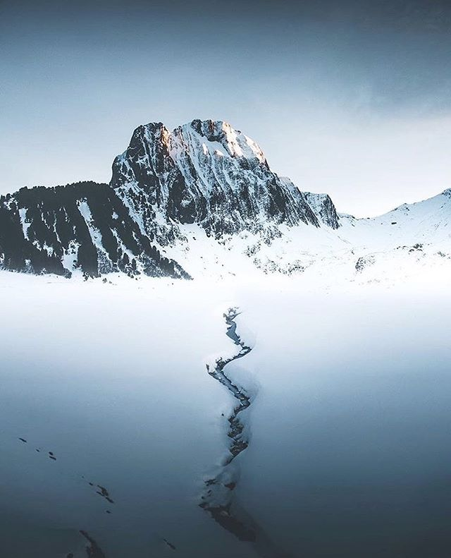 Take the path of most resistance. // photo by @lorenz.weisse #greatnorthcollective