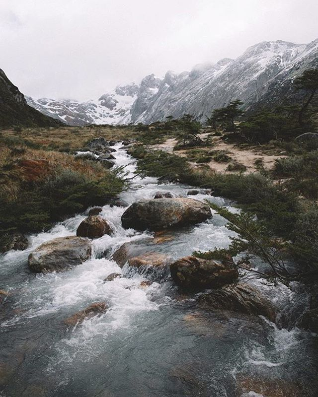 When does a stream become a river? // photo by @philippheigel #greatnorthcollective