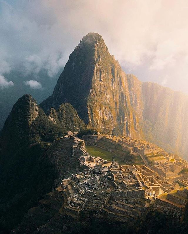 Misty mornings at Machu Picchu. // photo by @emmett_sparling #greatnorthcollective