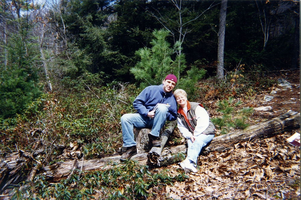 Mom and I on one of our adventures together.