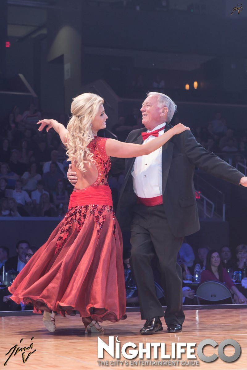 "Performing with Don Groesser, The Mayor of Ralston Arena at my charity event ""Dancing with the Omaha Stars"""
