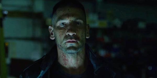 John Bernthal as Frank Castle a.k.a. The Punisher; via youtube screenshot