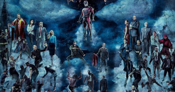 A portion of the Daredevil promotional art; via Variety.com