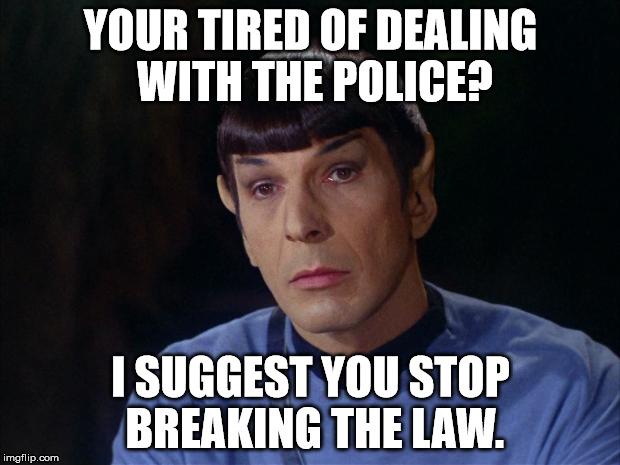 Spock from Star Trek, the idyllic ISTJ