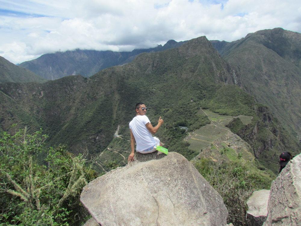 All the way up Huayna Picchu (Cusco, Peru)