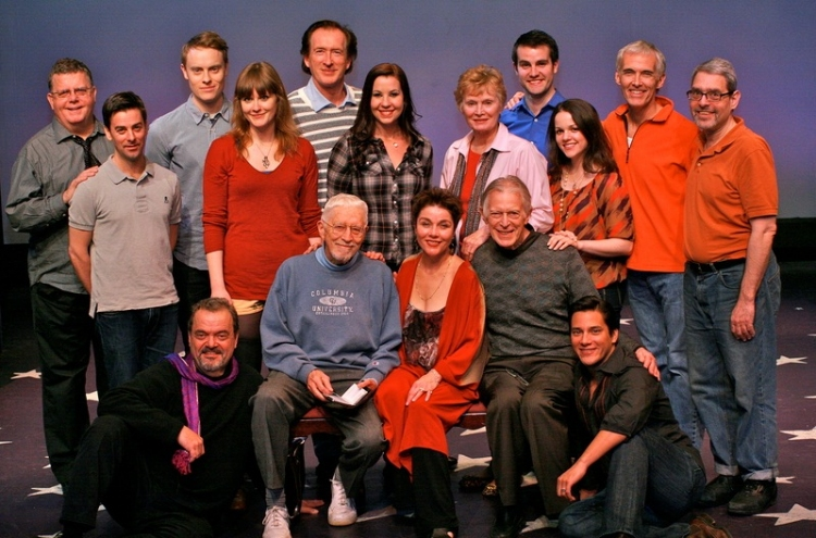With Tom Jones and cast