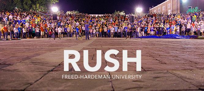 Rush @ Freed Hardeman University