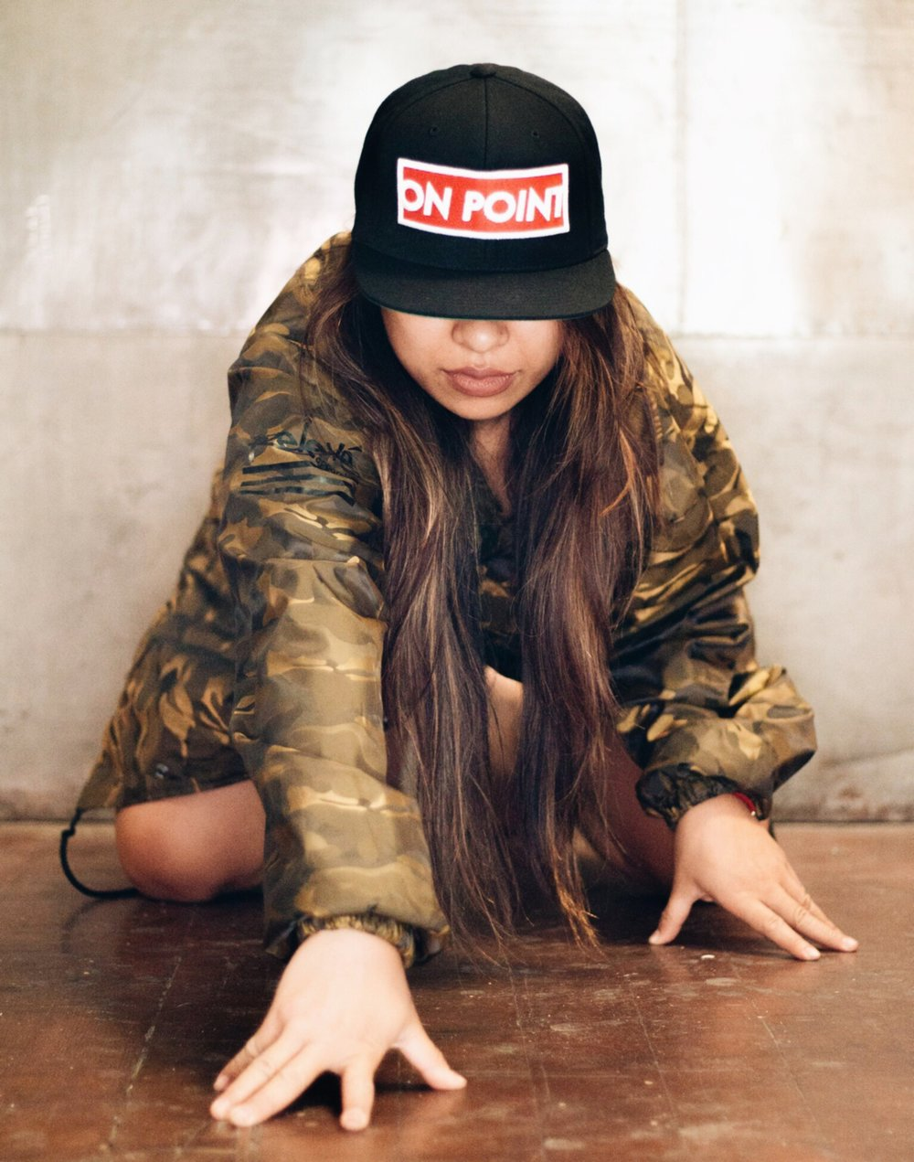 Shown: Gold Camo Jacket • On Point Snapback
