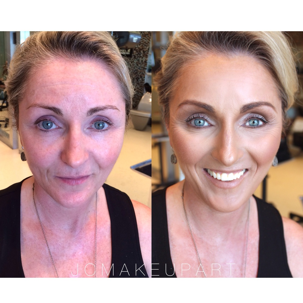 Maureen's before & after