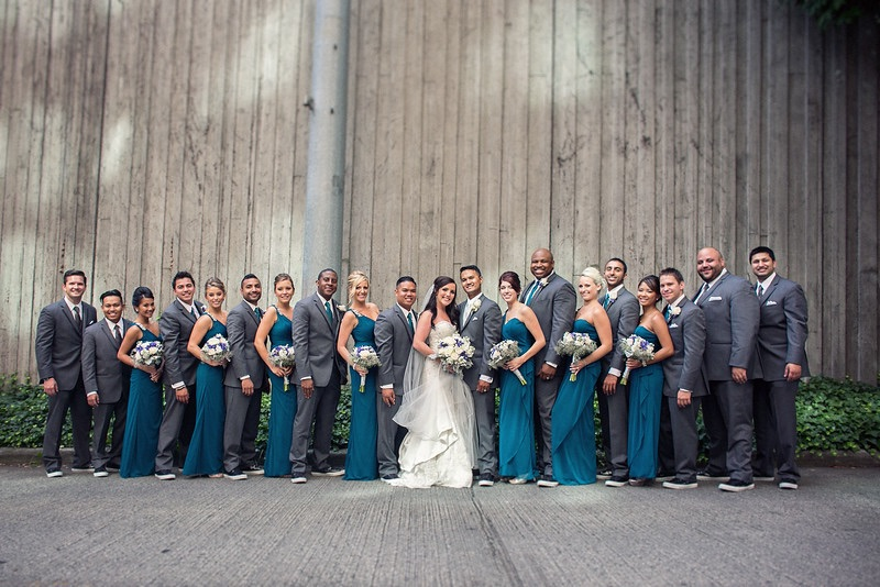 Congratulations to the Newlyweds - and congrats on such a beautiful day for everyone that attended!