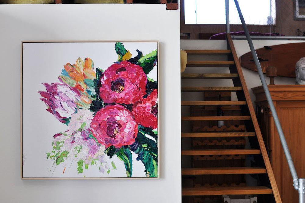 Magenta Bouquet by Britt Dunbar | Image by Bec Tougas