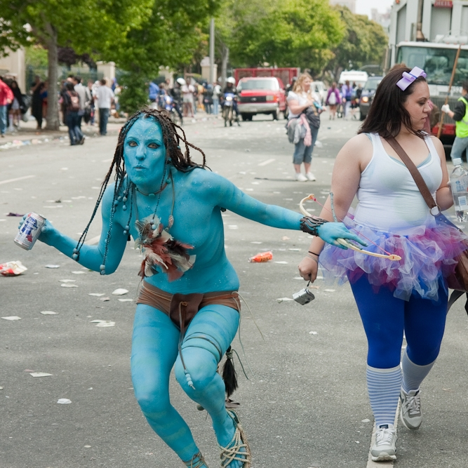 """Bay to Breakers is the annual shit show that never ceases to amaze me and reason #3 why I love San Francisco."""