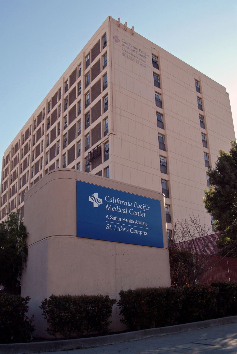 The award-winning California Pacific Medical Center (CPMC) and many of the country's best physicians are just steps away.