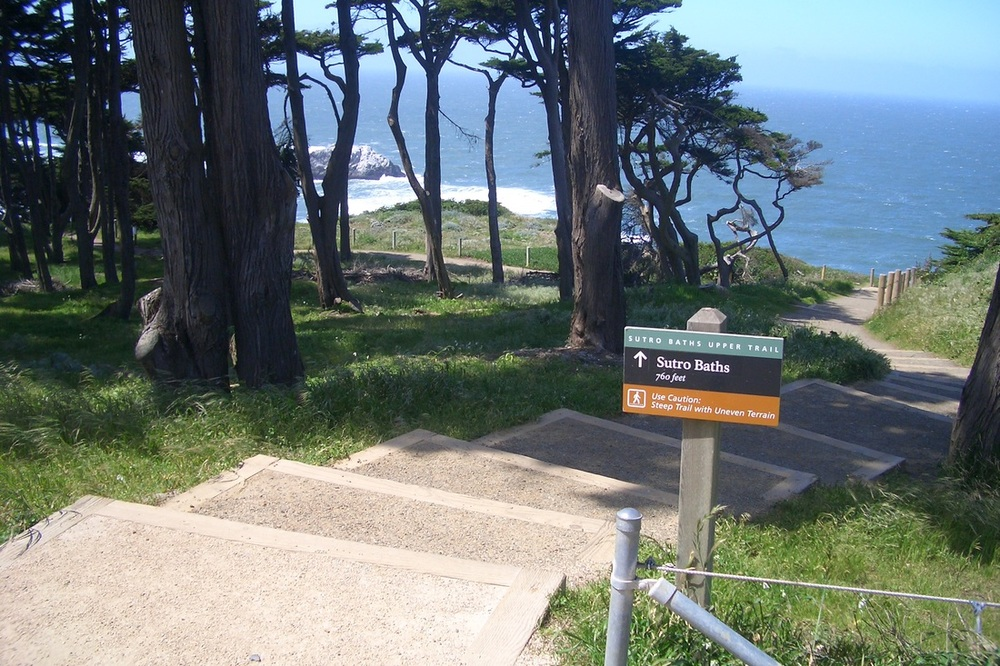 A gorgeous view from the Lands End trail in the Golden Gate National Recreation Area.