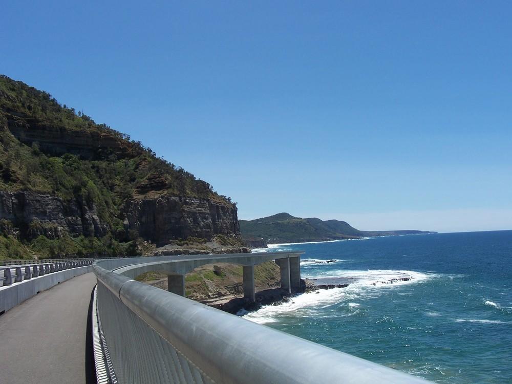 The historic Seacliff Bridge Pathway.