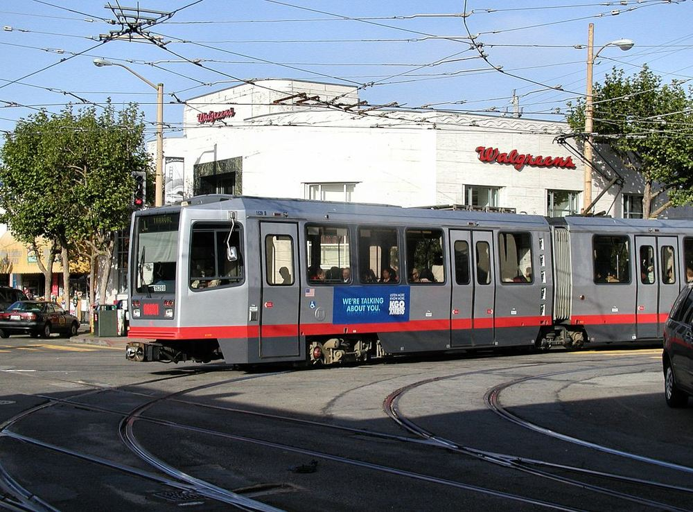 The Inner Parkside is served by the L-Taraval streetcar line, which runs all the way down to the ocean.