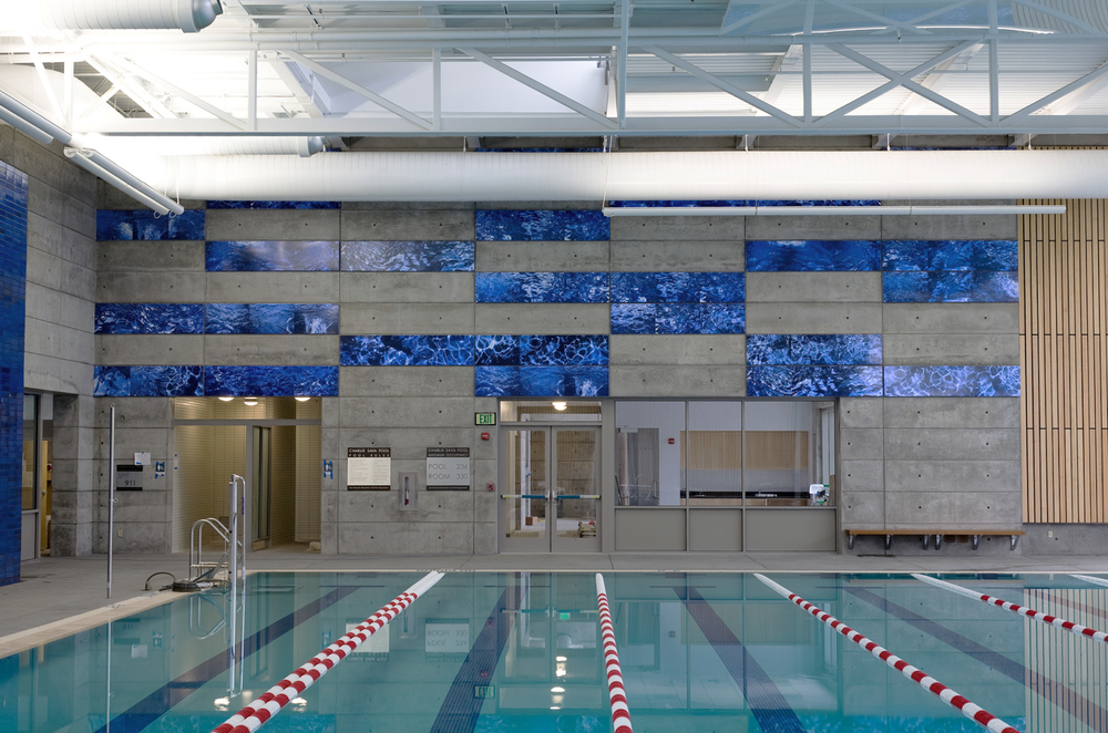 Offering recreational swim and aquatic fitness classes, the Charlie Sava Pool at 19th Avenue and Wawona is a popular neighborhood hangout.