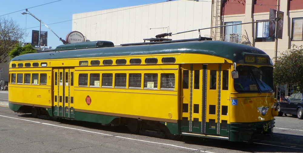 One of San Francisco's original streetcar lines, the L-Taraval runs from the Financial District to 46th Avenue and Wawona Street, near the San Francisco Zoo.