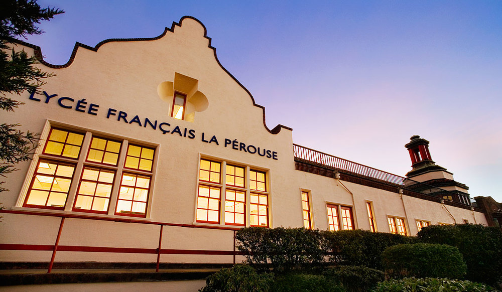 The prestigious French school Lycée Français de San Francisco serves children in preschool through grade 12.