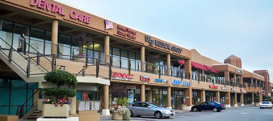 Lakeshore Plaza shopping center on Sloat Boulevard offers a great mix of retail stores and a Lucky supermarket.