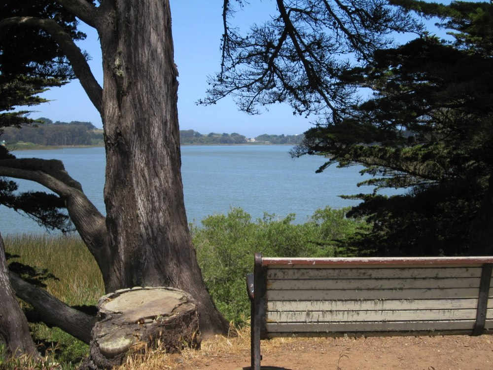 Lake Merced Park is a 614-acre park with a 4.5-mile recreational trail encircling a freshwater lake, popular for fishing, boating, jogging and biking.