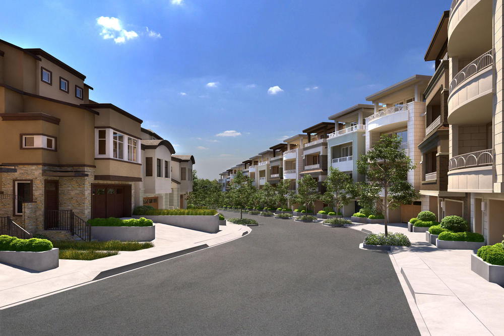 Summit 800 is a new development of luxury townhouses on Brotherhood Way.