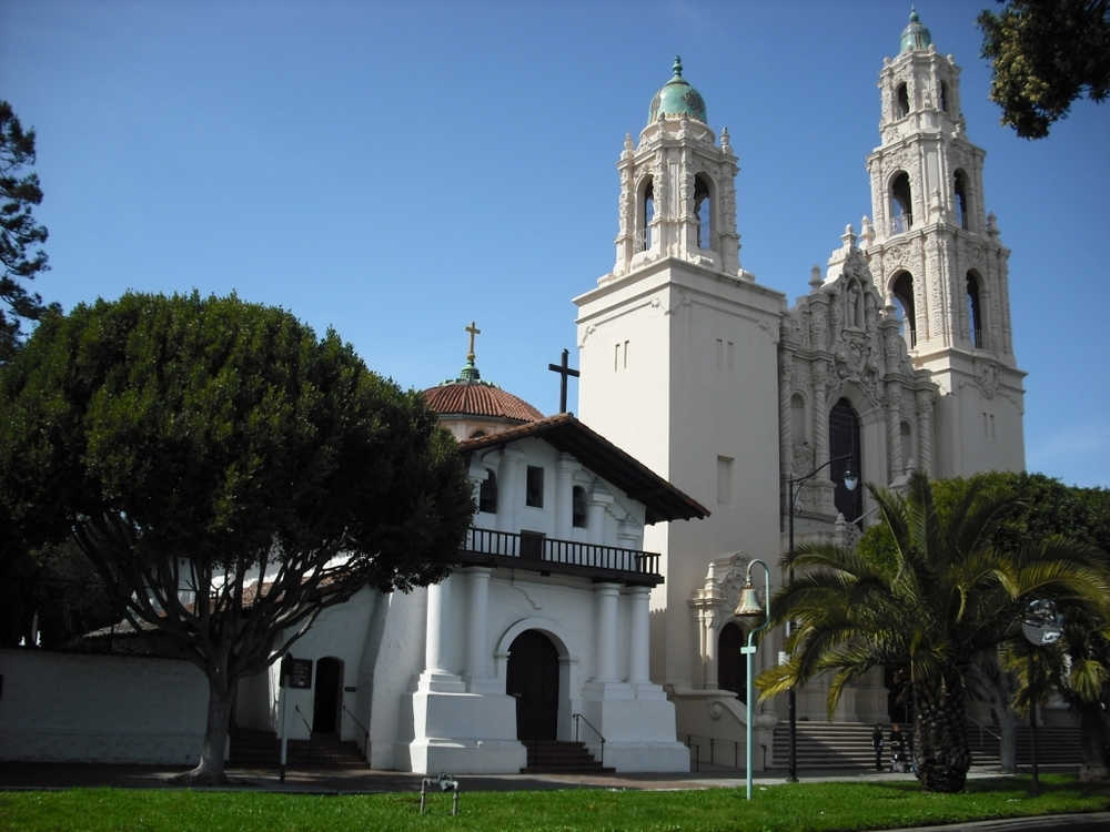Mission Dolores is both the oldest original intact mission in California and the oldest building in San Francisco.