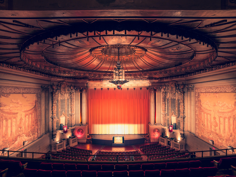 The Castro Theatre is a San Francisco historic landmark.