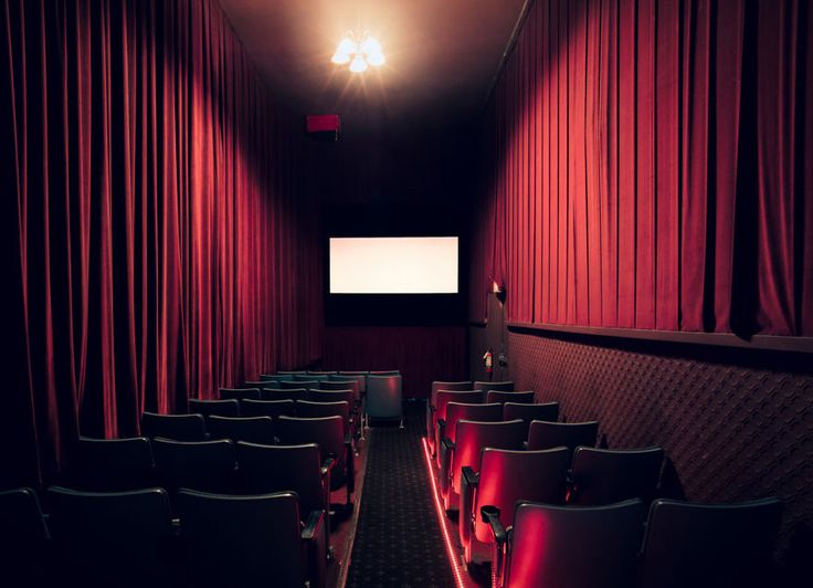 The independently owned Four Star Theater on Clement Street at 23rd specializes in award-winning indie films.