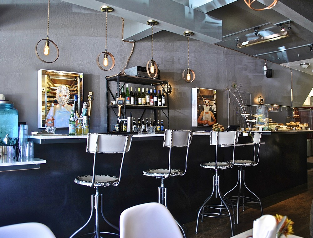 Heart Baker on Clement Street is a laid-back eatery that caters to a hip crowd.